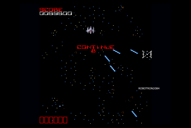 Robotron2084: Cross Fire EX (Sharp X68000 Emulated) 69,600 points on 2014-05-16 17:33:34