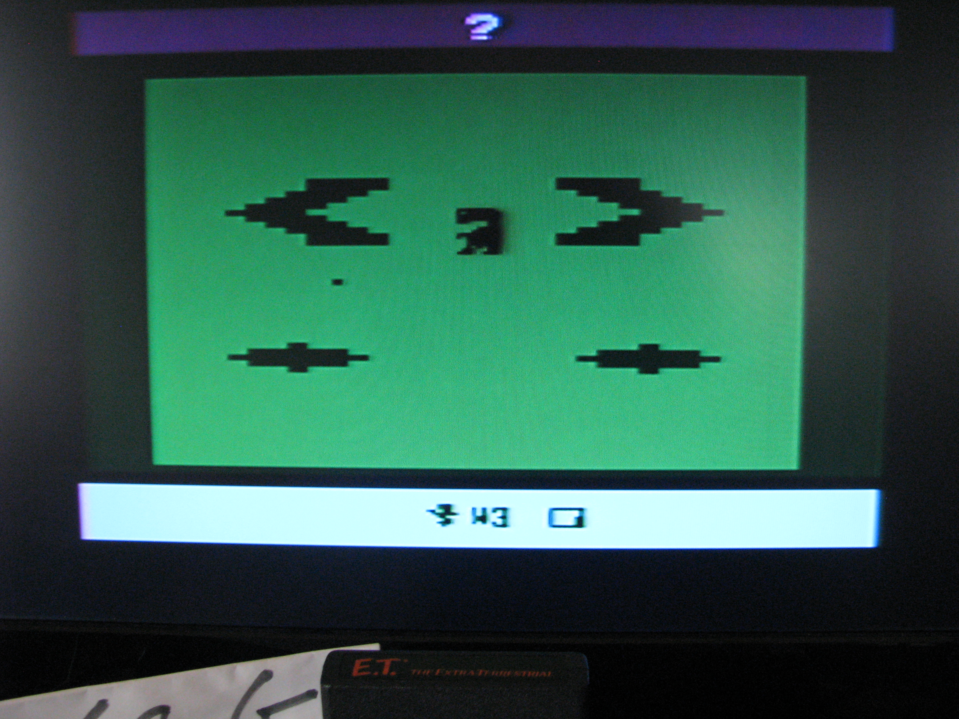 NorthCoastGamer: E.T. The Extra-Terrestrial: Game 1AB (Atari 2600) 204,486 points on 2014-05-16 21:18:59