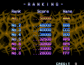 RichyS: Aliens [aliens] (Arcade Emulated / M.A.M.E.) 32,500 points on 2014-05-17 17:45:12