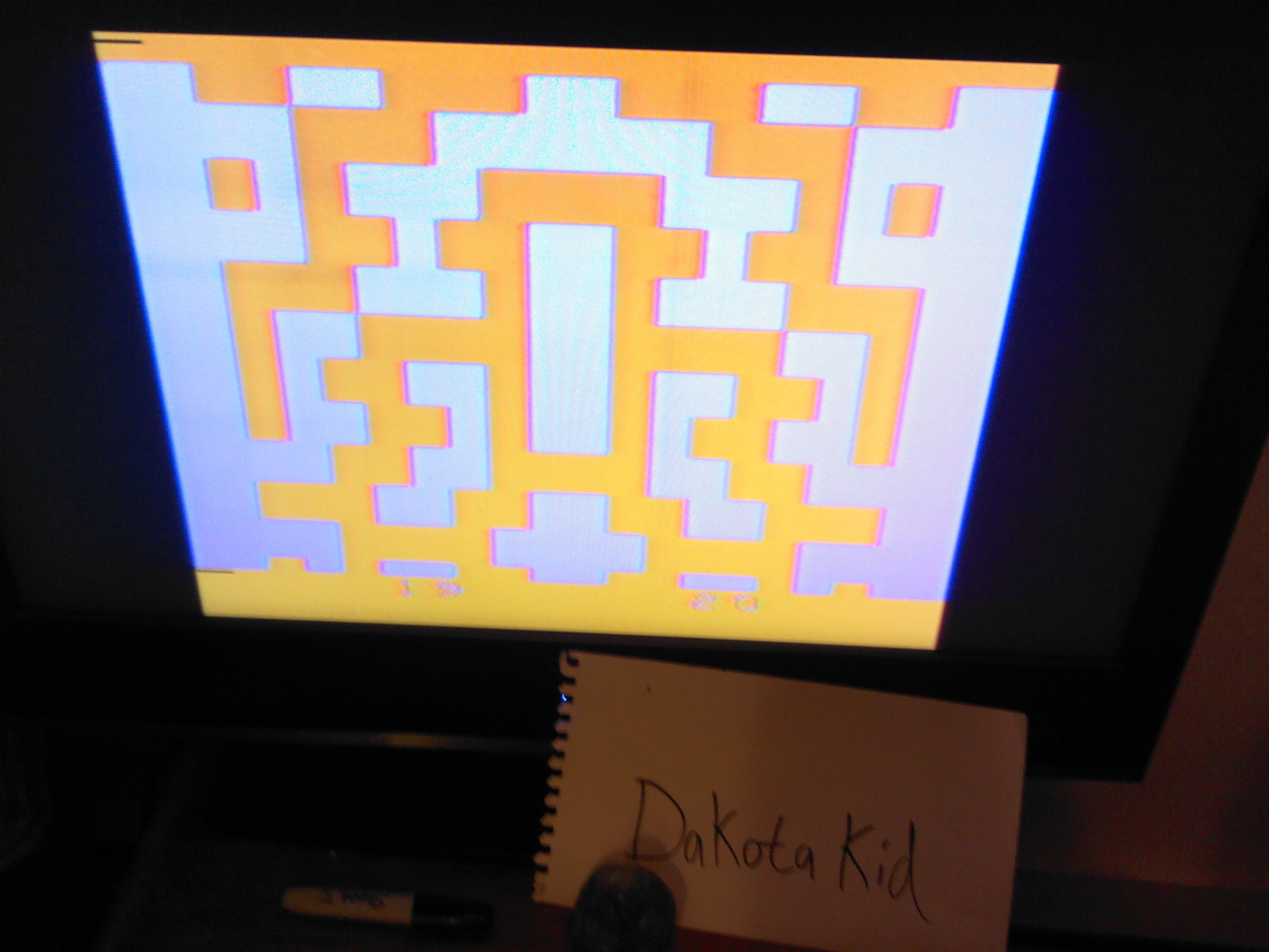DakotaKid: Entombed (Atari 2600 Novice/B) 20 points on 2014-05-17 20:49:58