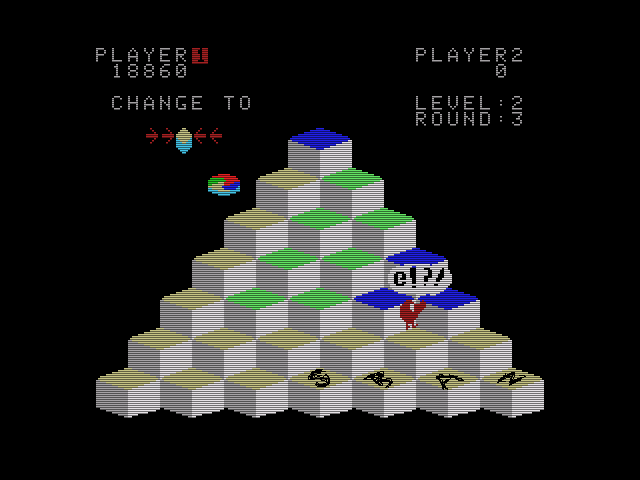 Q*Bert 18,860 points