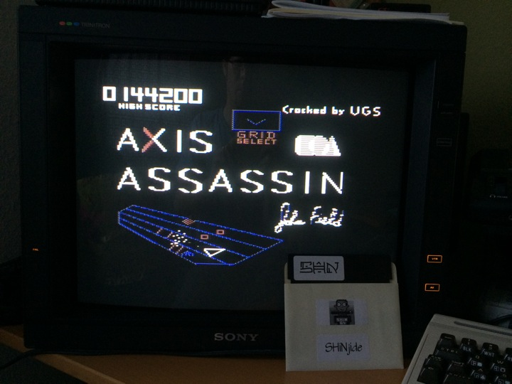 Axis Assassin 144,200 points