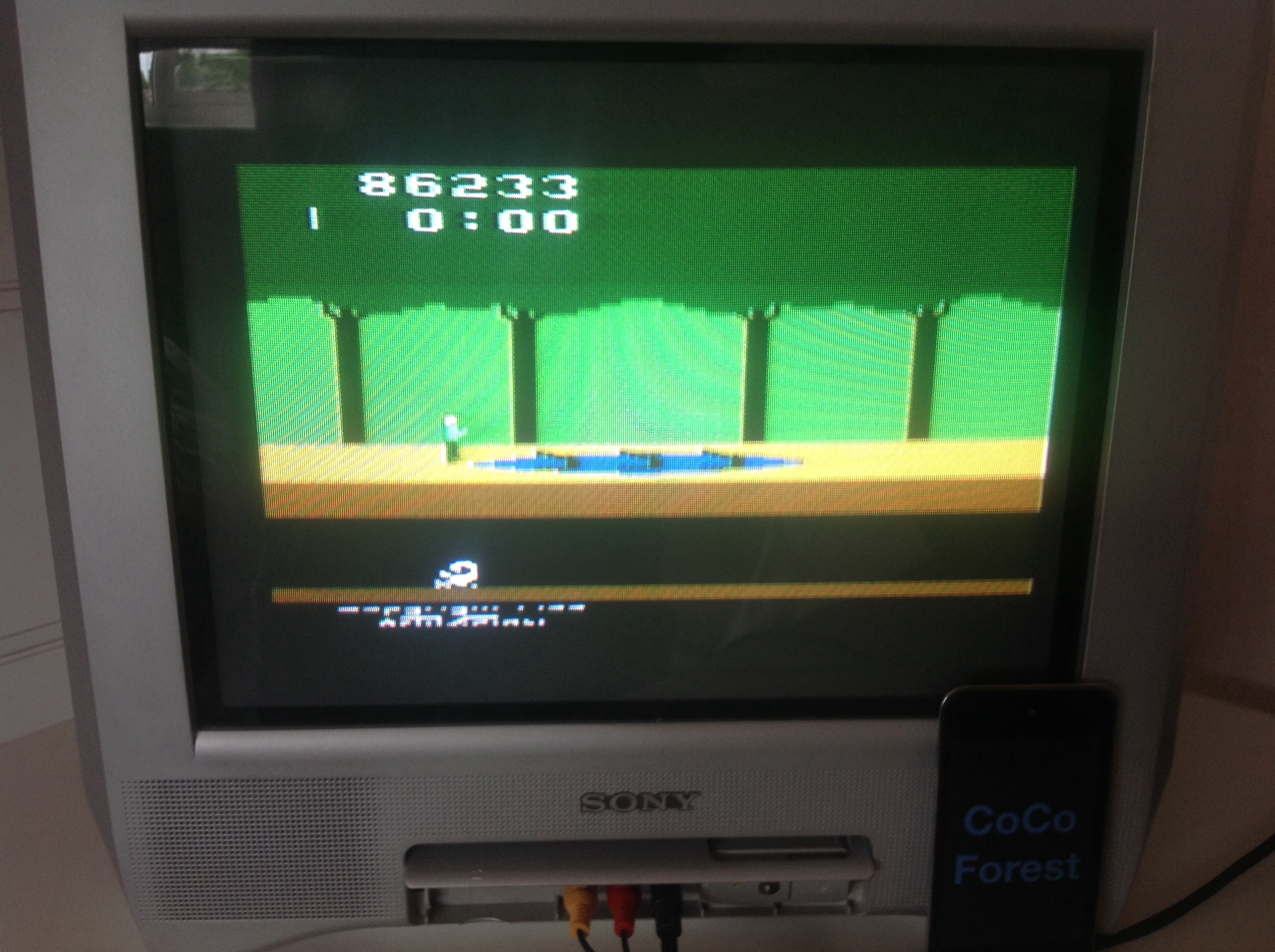 CoCoForest: Pitfall! (Atari 2600 Expert/A) 86,233 points on 2014-05-20 10:34:21