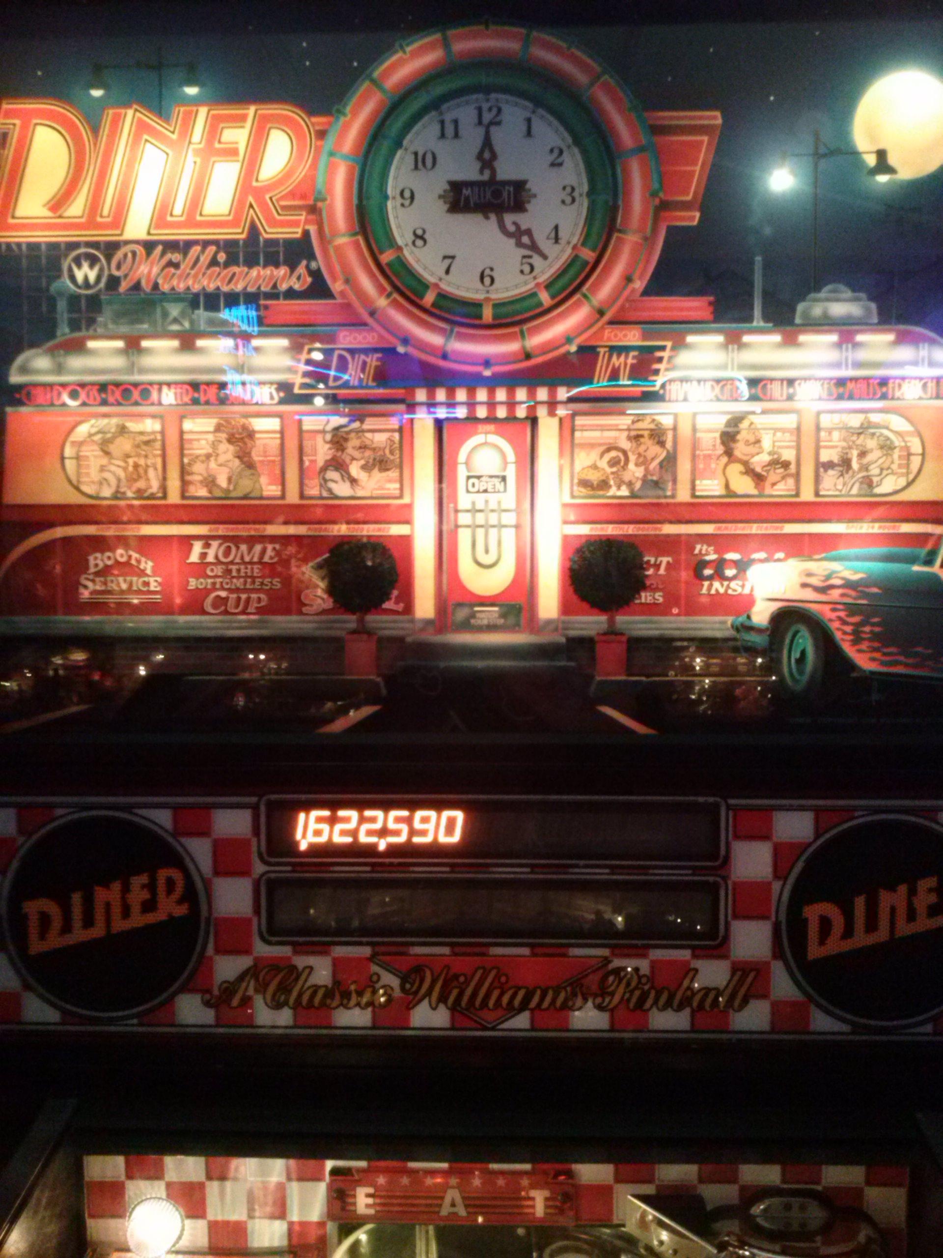 nester: Diner (Pinball: 3 Balls) 1,622,590 points on 2014-05-20 14:38:29