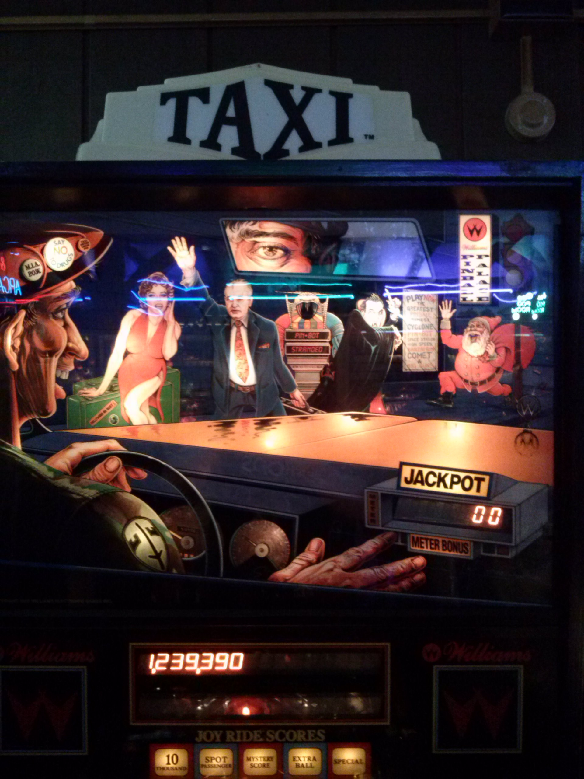 nester: Taxi (Pinball: 3 Balls) 1,239,390 points on 2014-05-20 14:45:05