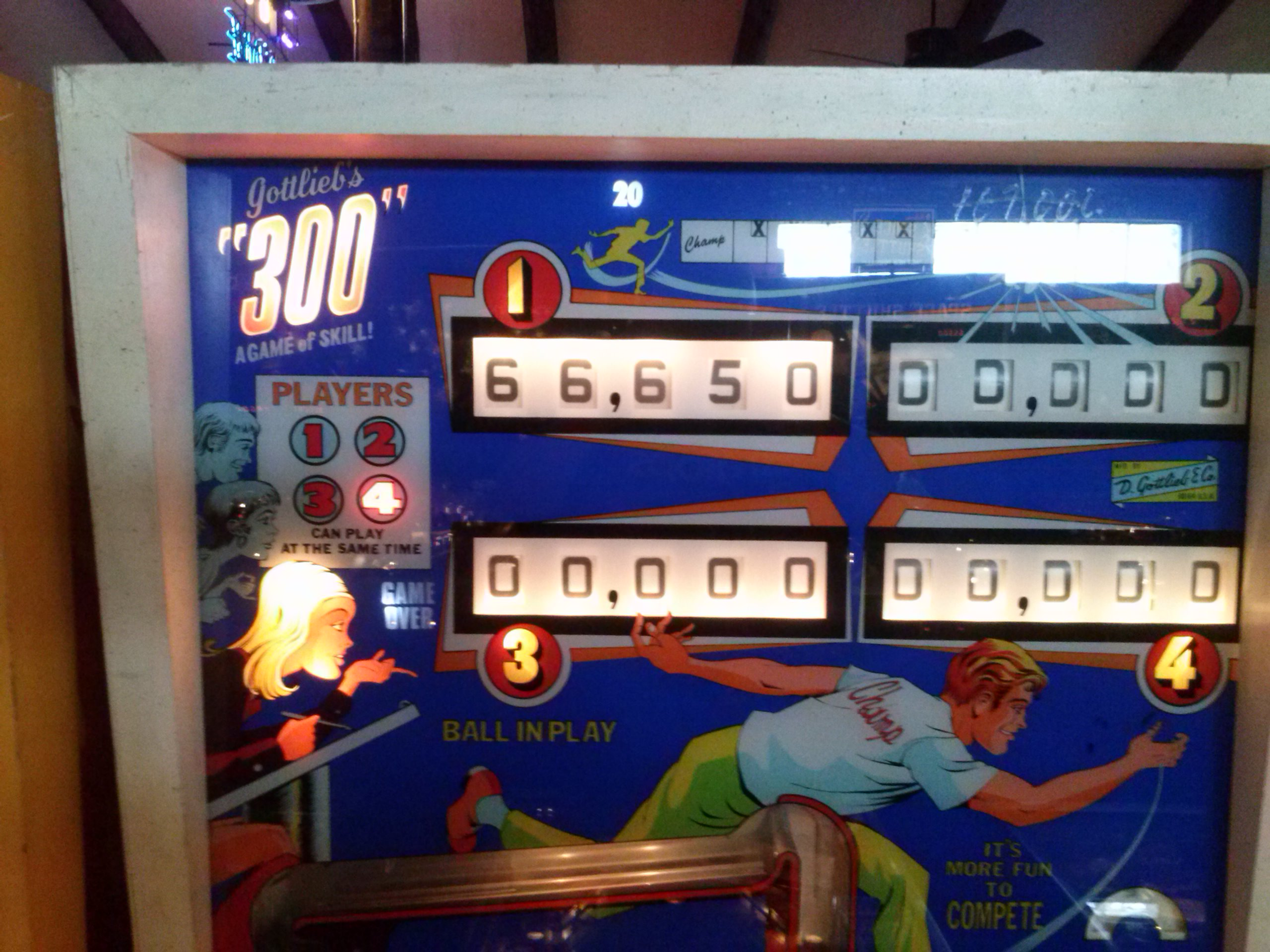 300 66,650 points
