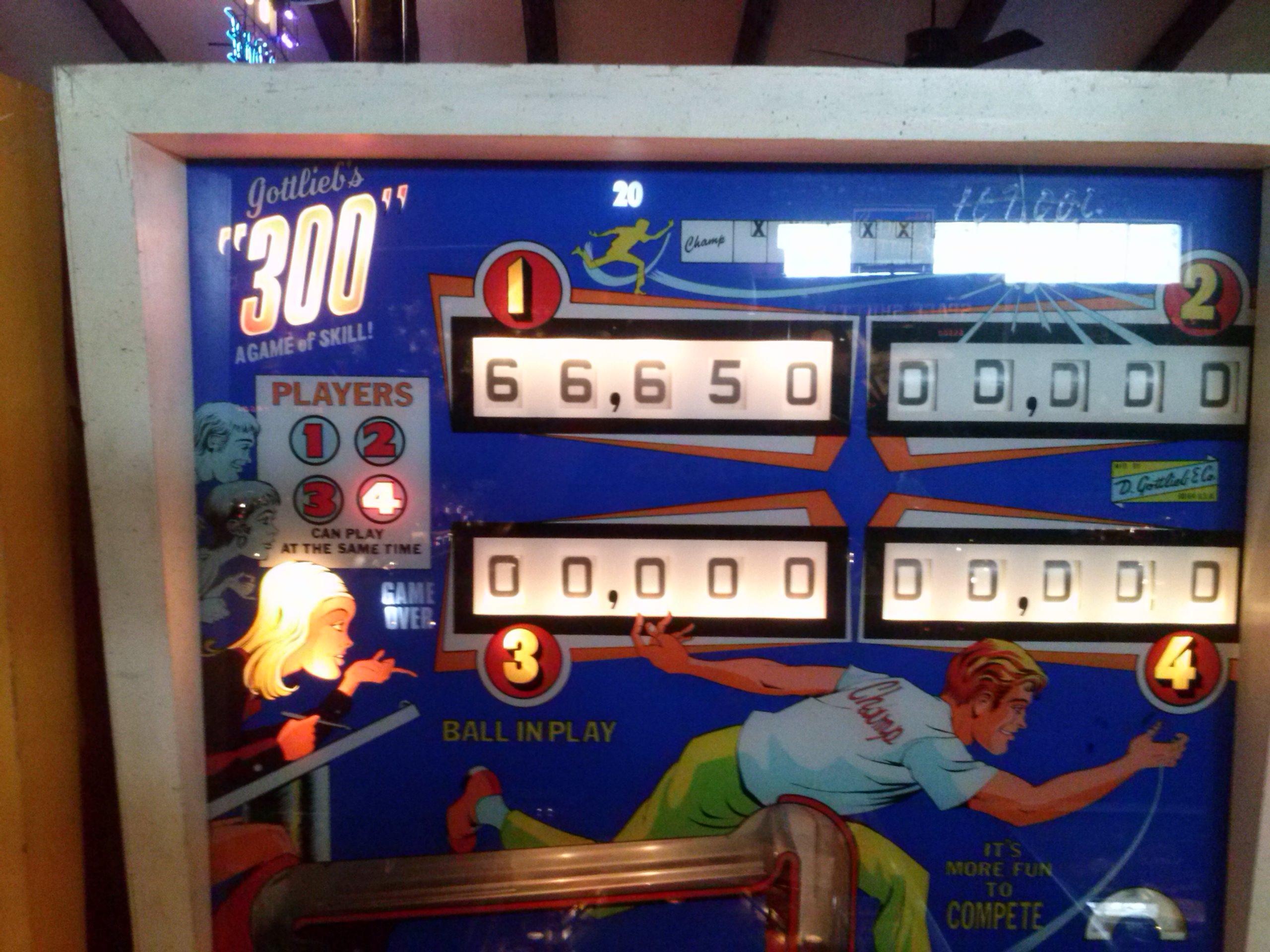 nester: 300 (Pinball: 3 Balls) 66,650 points on 2014-05-20 22:06:13