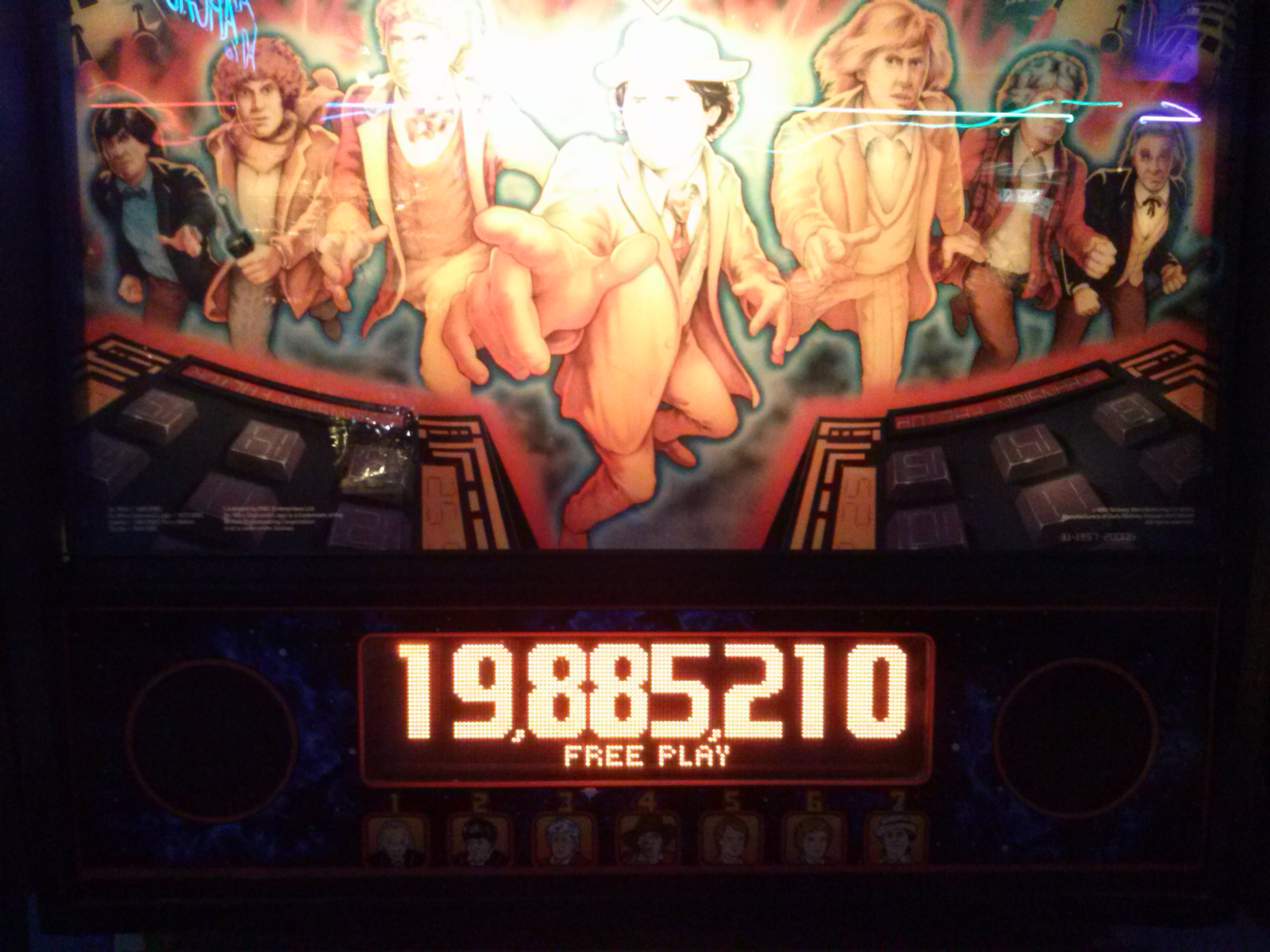 nester: Doctor Who (Pinball: 3 Balls) 19,885,210 points on 2014-05-21 18:20:07