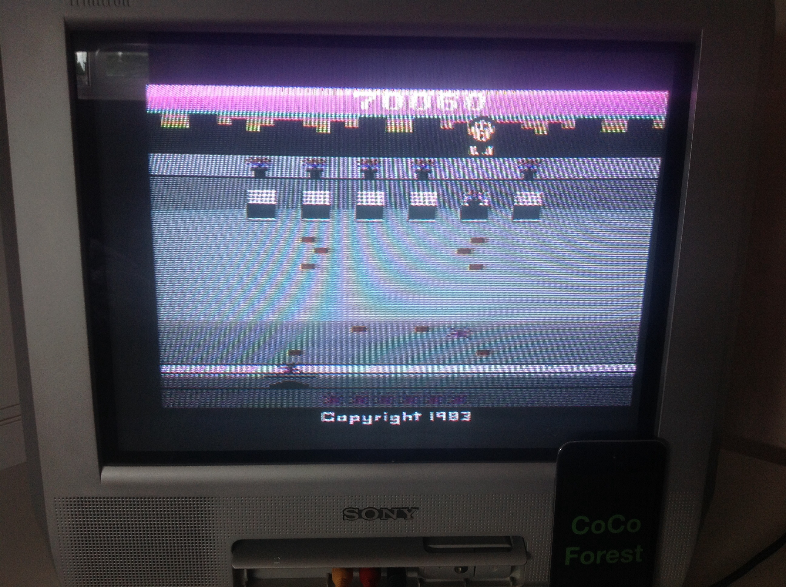 CoCoForest: Crackpots (Atari 2600) 70,060 points on 2014-05-22 08:14:16