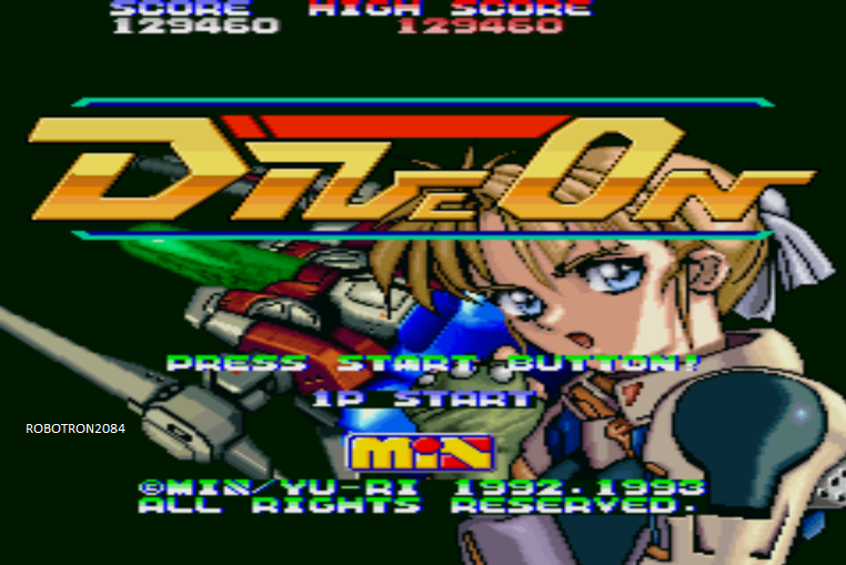 Robotron2084: Dive On (Sharp X68000 Emulated) 129,460 points on 2014-05-22 18:34:11