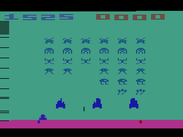 Space Invaders: Game 6 1,525 points