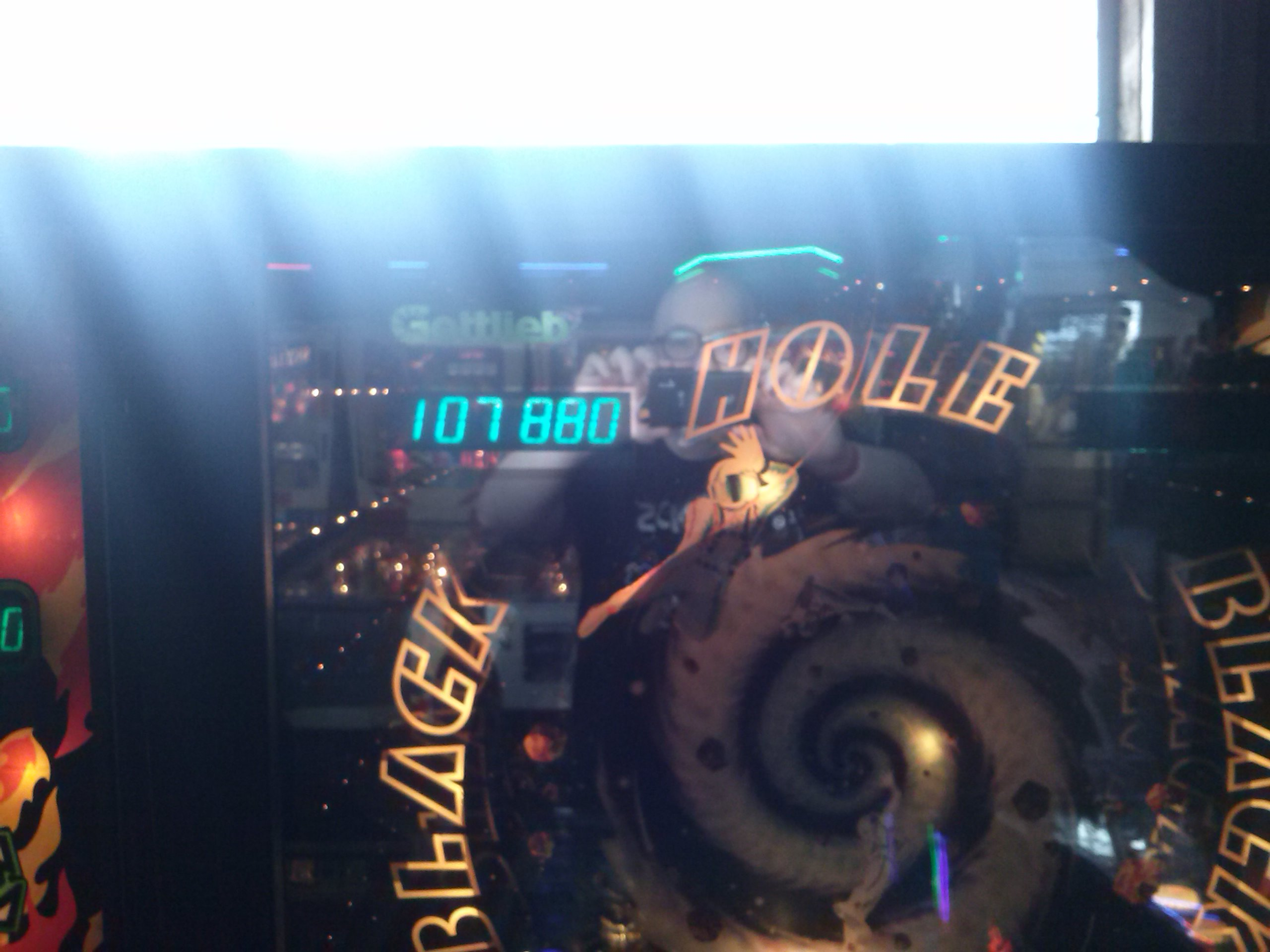 nester: Black Hole (Pinball: 3 Balls) 107,880 points on 2014-05-24 15:29:01