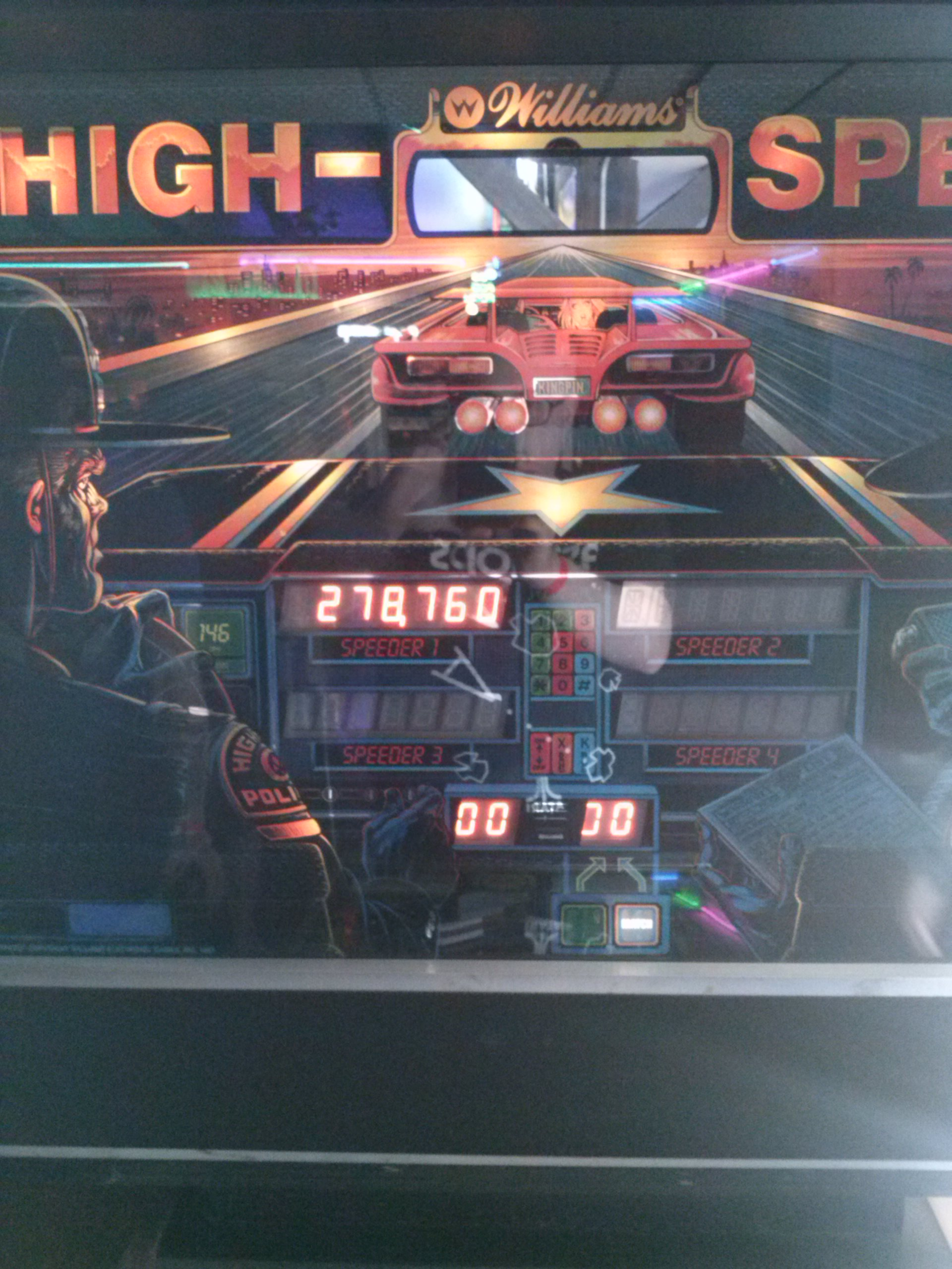 High Speed 278,760 points