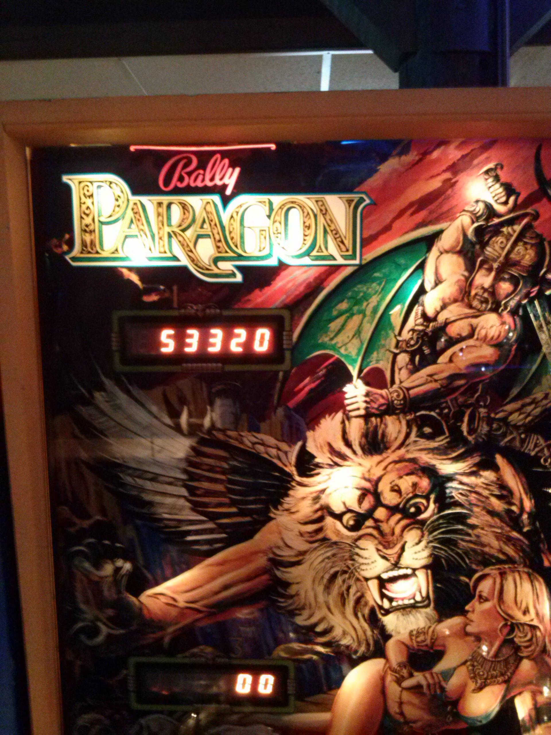 nester: Paragon (Pinball: 3 Balls) 53,320 points on 2014-05-25 00:58:30