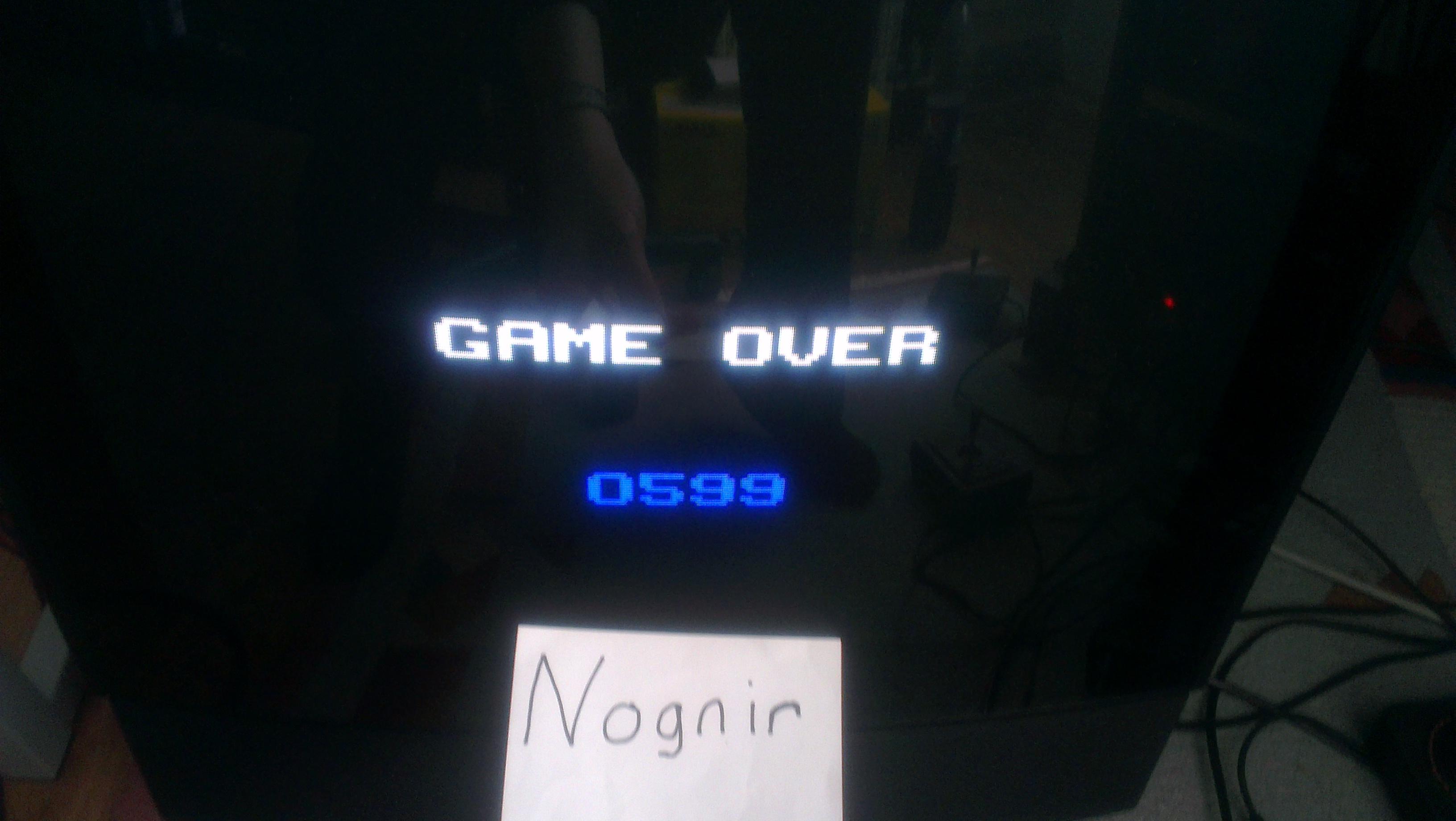 Nognir: Astrododge (Odyssey 2 / Videopac) 599 points on 2014-05-25 03:13:21