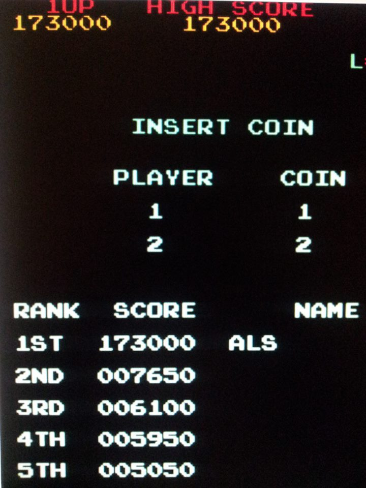 muscleandfitness: Monkey Donkey (Arcade Emulated / M.A.M.E.) 173,000 points on 2014-05-25 08:21:40