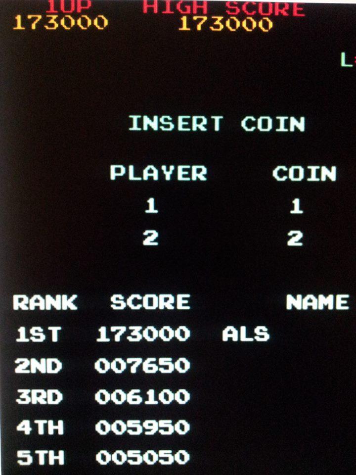 Monkey Donkey 173,000 points