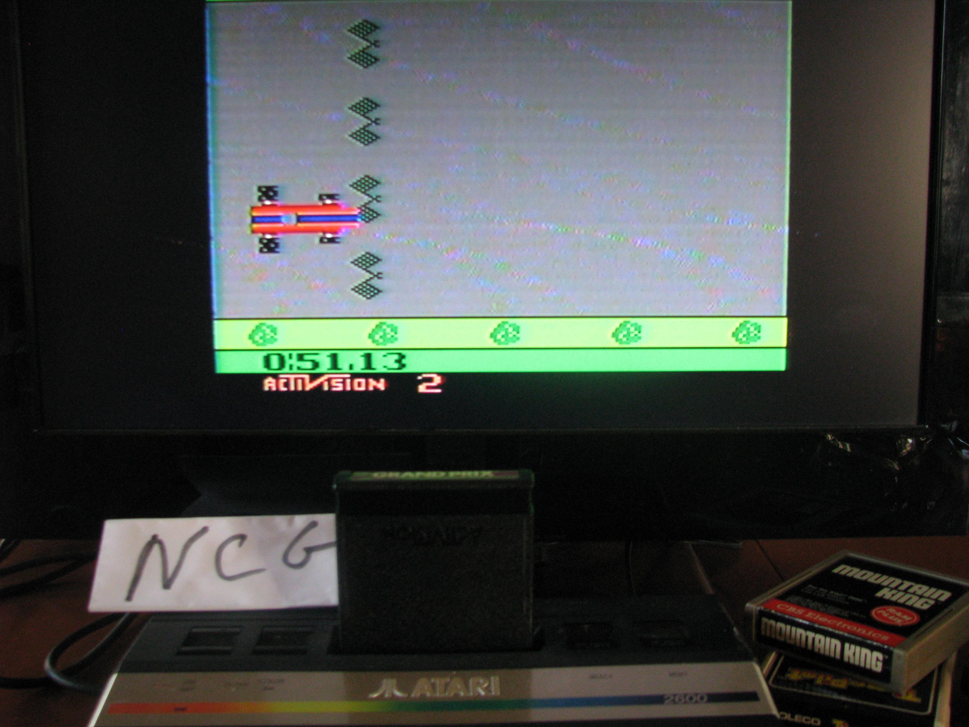 NorthCoastGamer: Grand Prix: Game 2 (Atari 2600 Novice/B) 0:00:51.13 points on 2014-05-25 18:42:40
