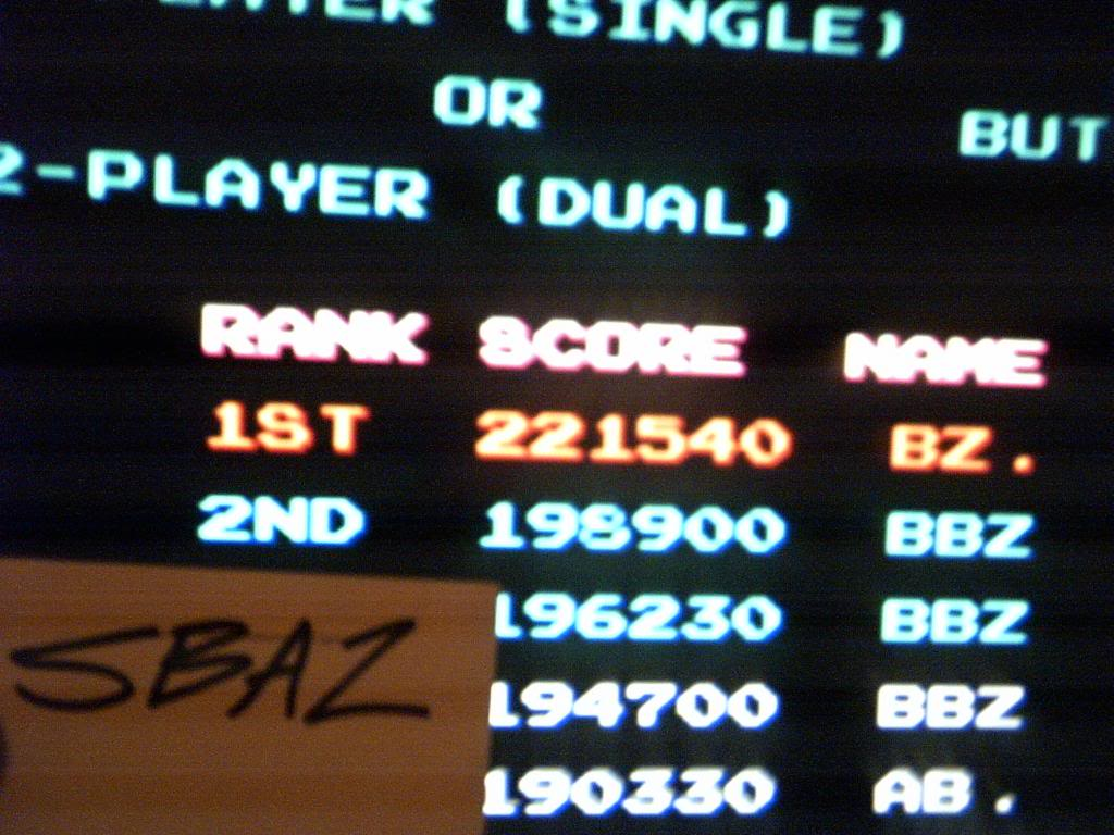 Mario Bros 221,540 points