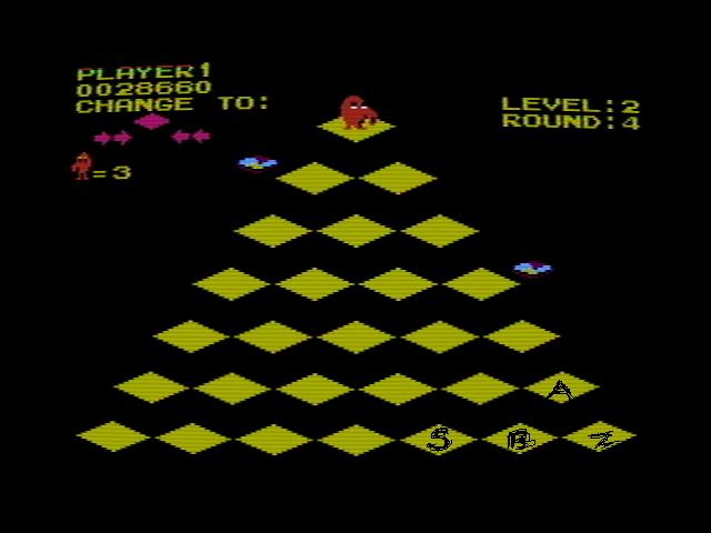 Q*Bert 28,660 points
