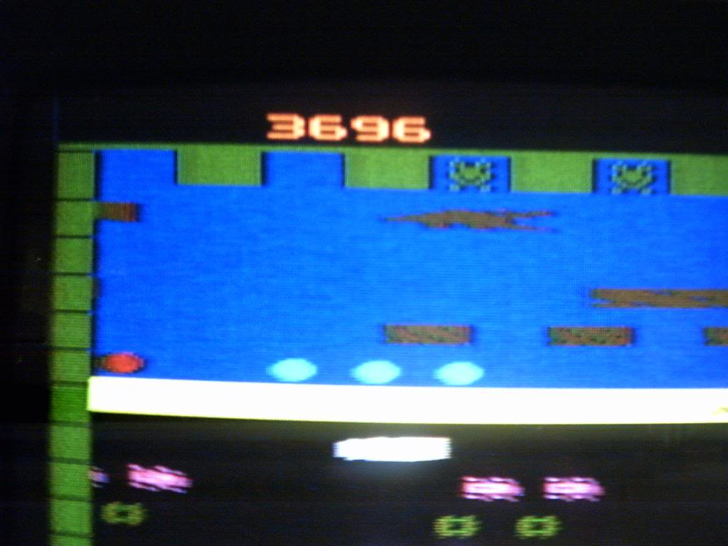 Frogger 3,696 points