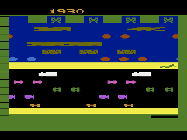 Frogger 1,930 points