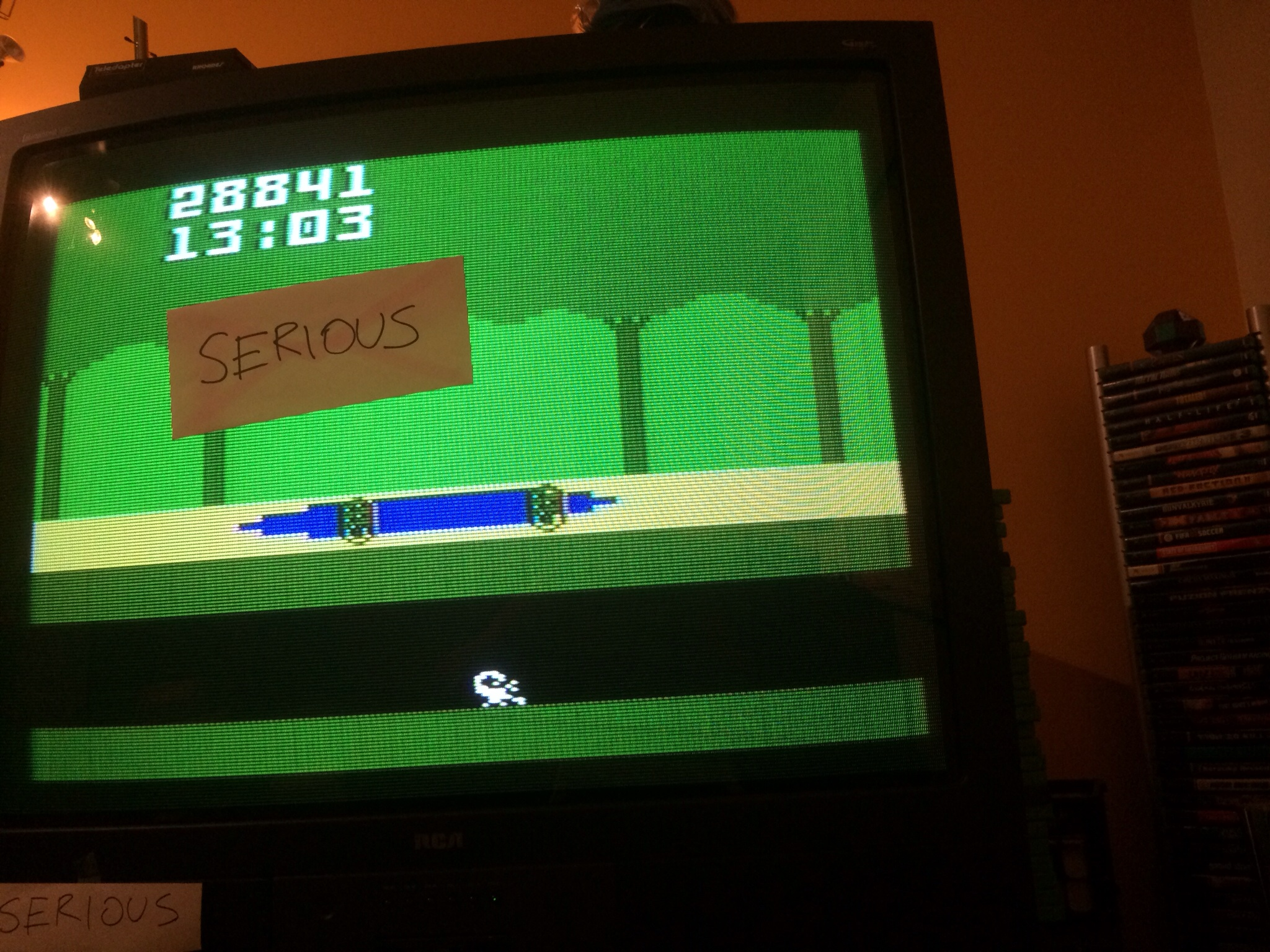 Serious: Pitfall (Intellivision) 28,841 points on 2014-05-30 17:52:17