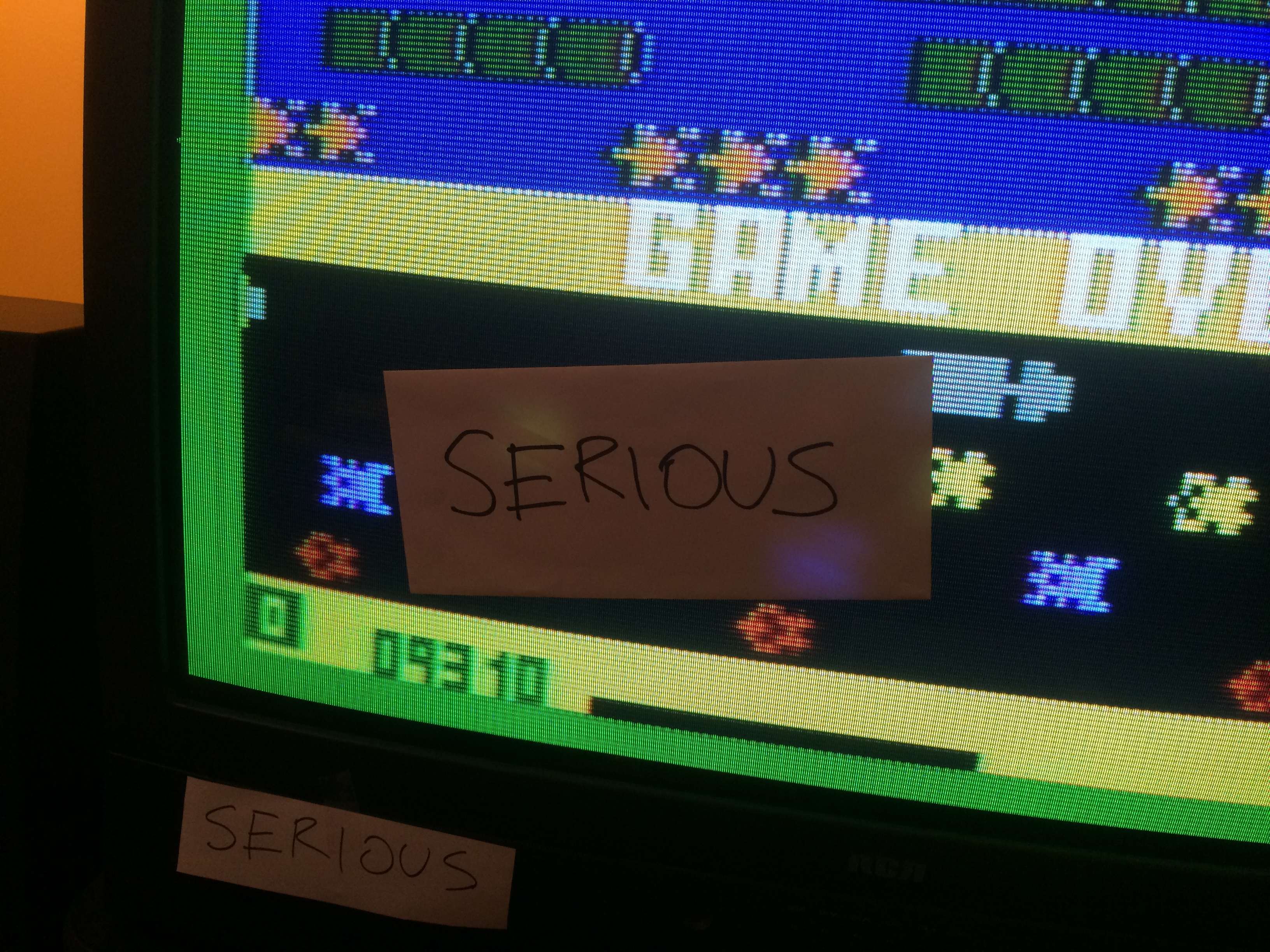 Serious: Frogger: Skill 1 (Intellivision) 9,310 points on 2014-05-30 20:37:07