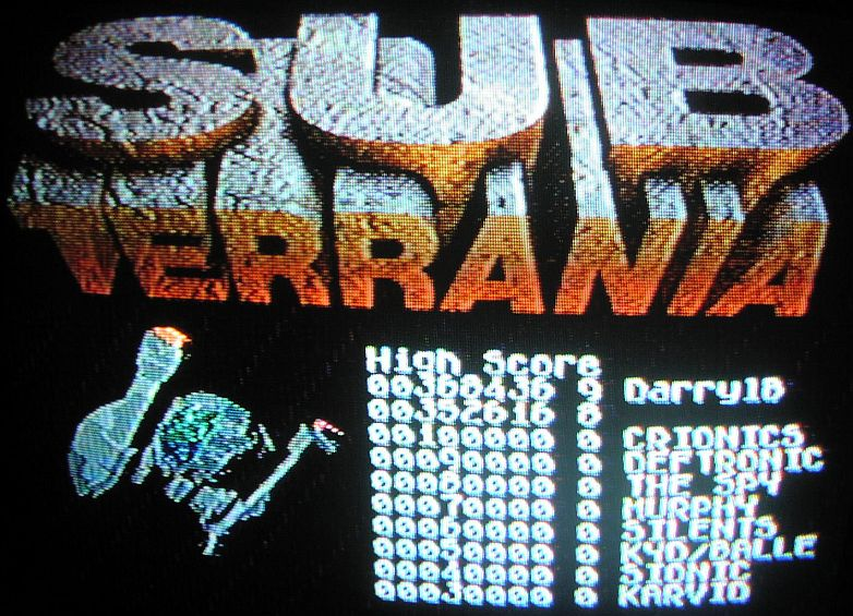 DarrylB: Sub-Terrania (Sega Genesis / MegaDrive) 368,436 points on 2014-05-31 09:26:39