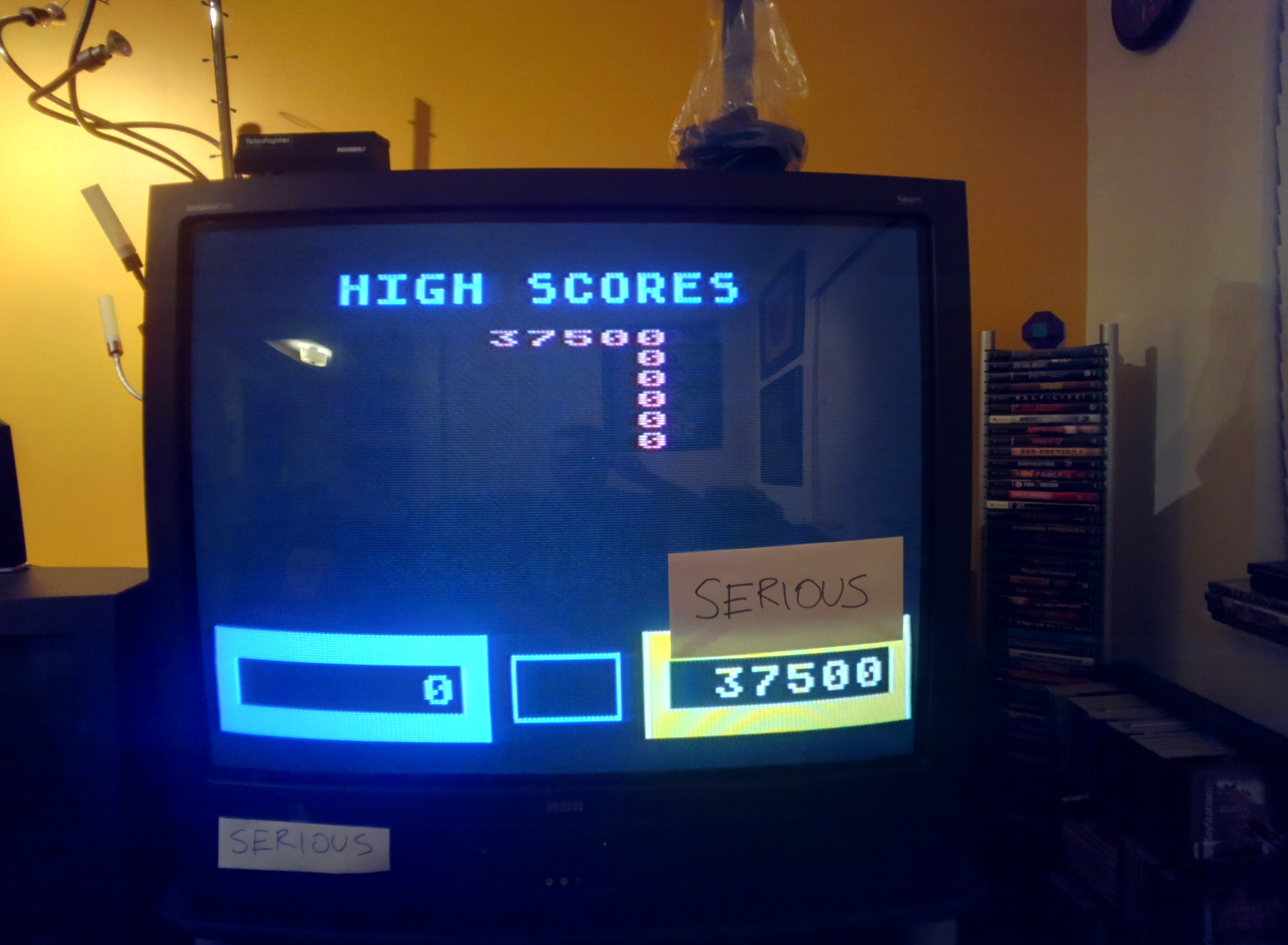 Serious: Wizard of Wor (Atari 400/800/XL/XE) 37,500 points on 2014-05-31 18:15:30