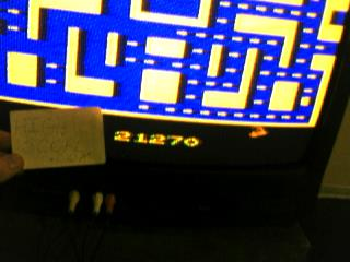 Ms. Pac-Man 21,270 points