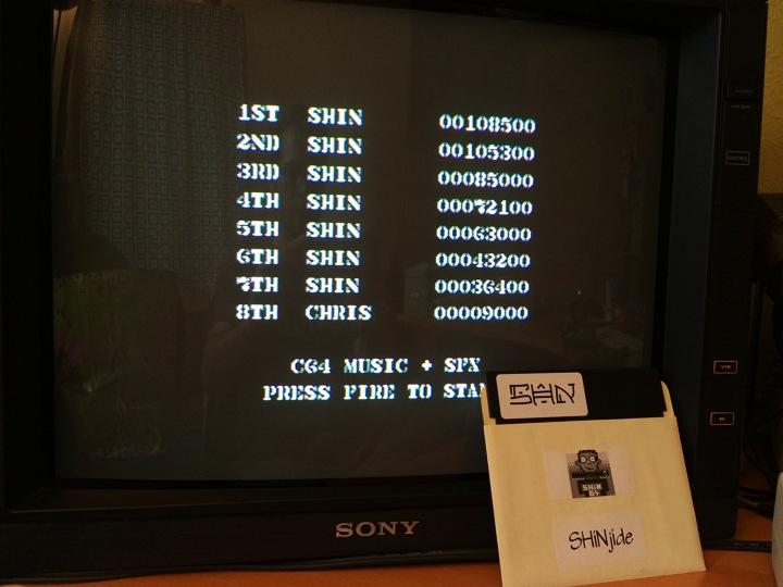 SHiNjide: Commando Arcade (Commodore 64) 108,500 points on 2014-06-03 12:08:21