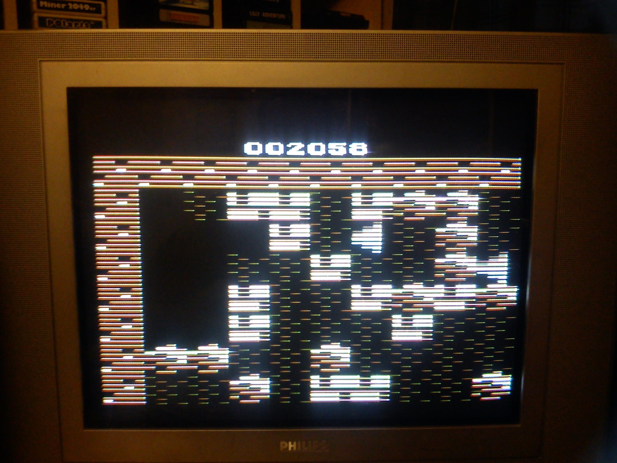 Fr0st: Boulder Dash (Atari 2600 Expert/A) 2,058 points on 2014-06-03 15:27:07