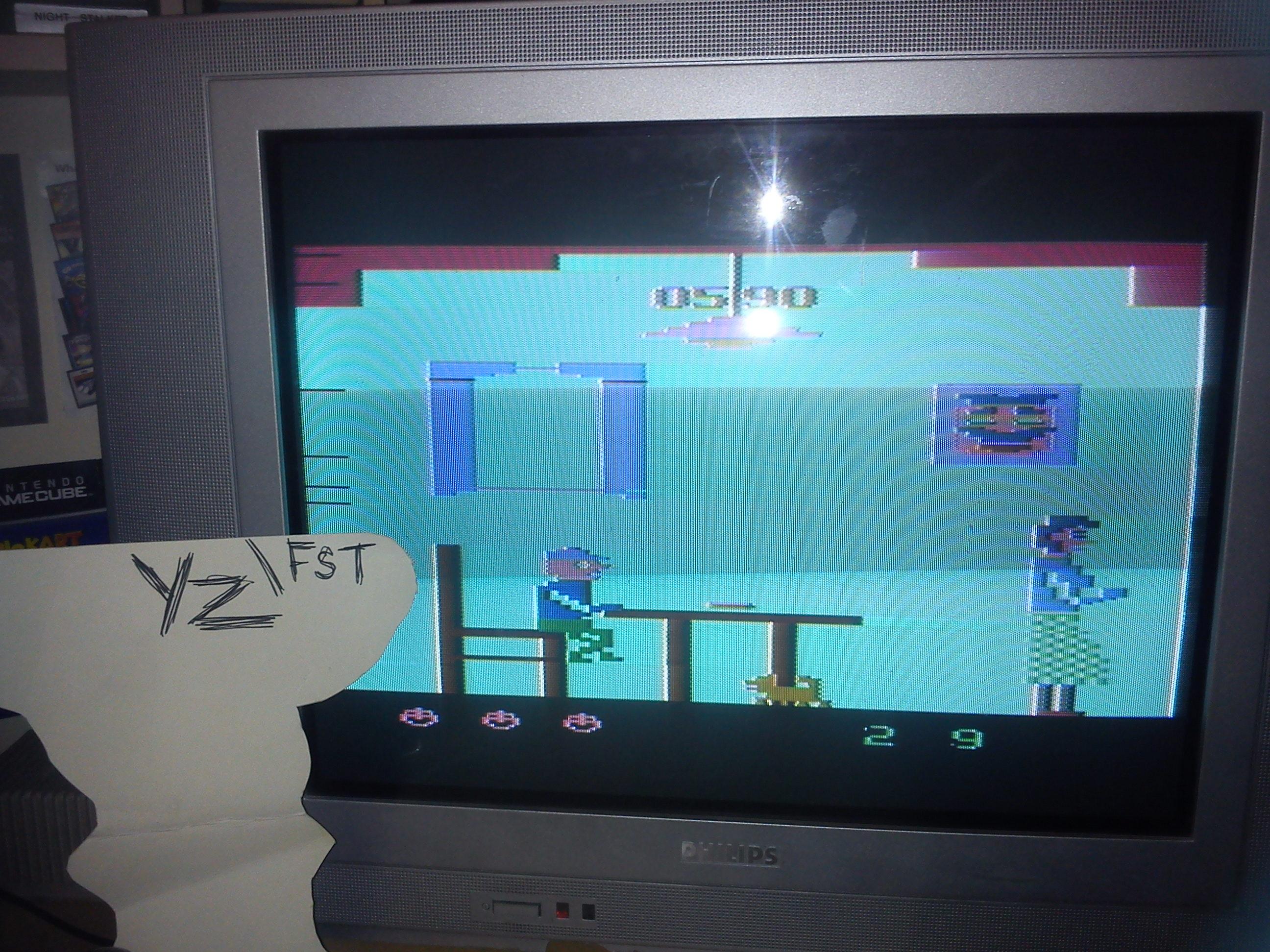 Fr0st: Mangia (Atari 2600) 590 points on 2014-06-03 15:58:04