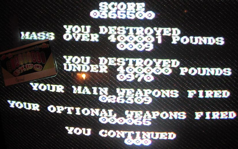 DarrylB: Silpheed [Normal] (Sega Genesis / MegaDrive) 365,500 points on 2014-06-04 12:58:52