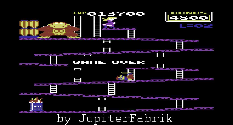 Donkey Kong: Atarisoft 13,700 points