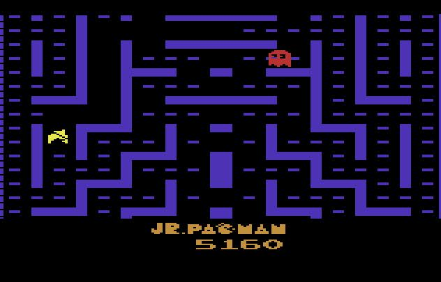 Jr. Pac-Man 5,160 points