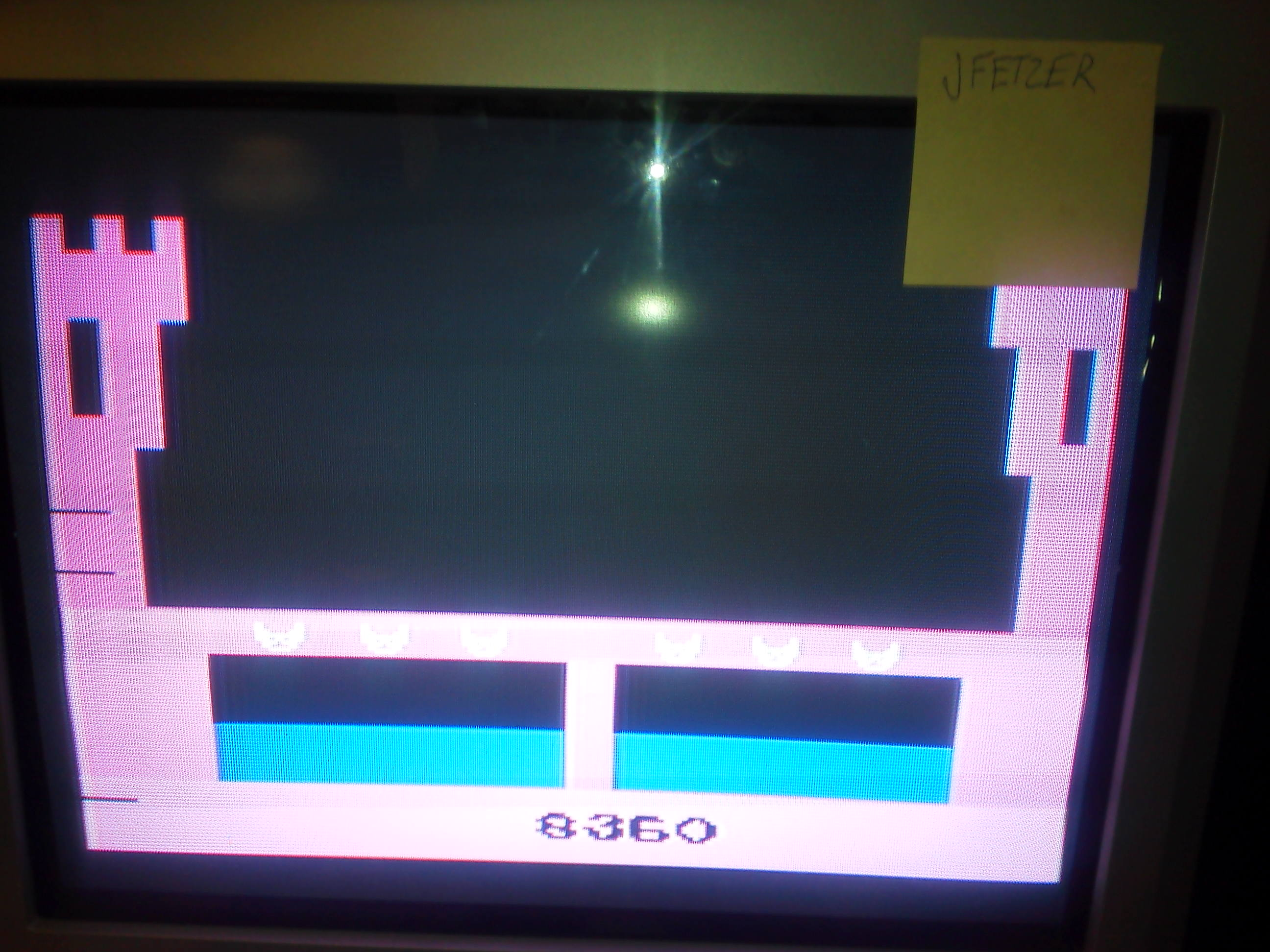 jfetzer: Dragonfire (Atari 2600 Novice/B) 8,360 points on 2014-06-05 18:19:40