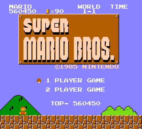 Super Mario Bros. 560,450 points