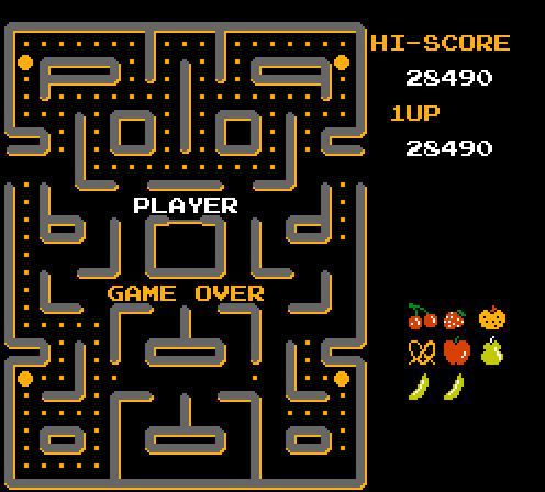 Ms. Pac-Man [Namco] 28,490 points