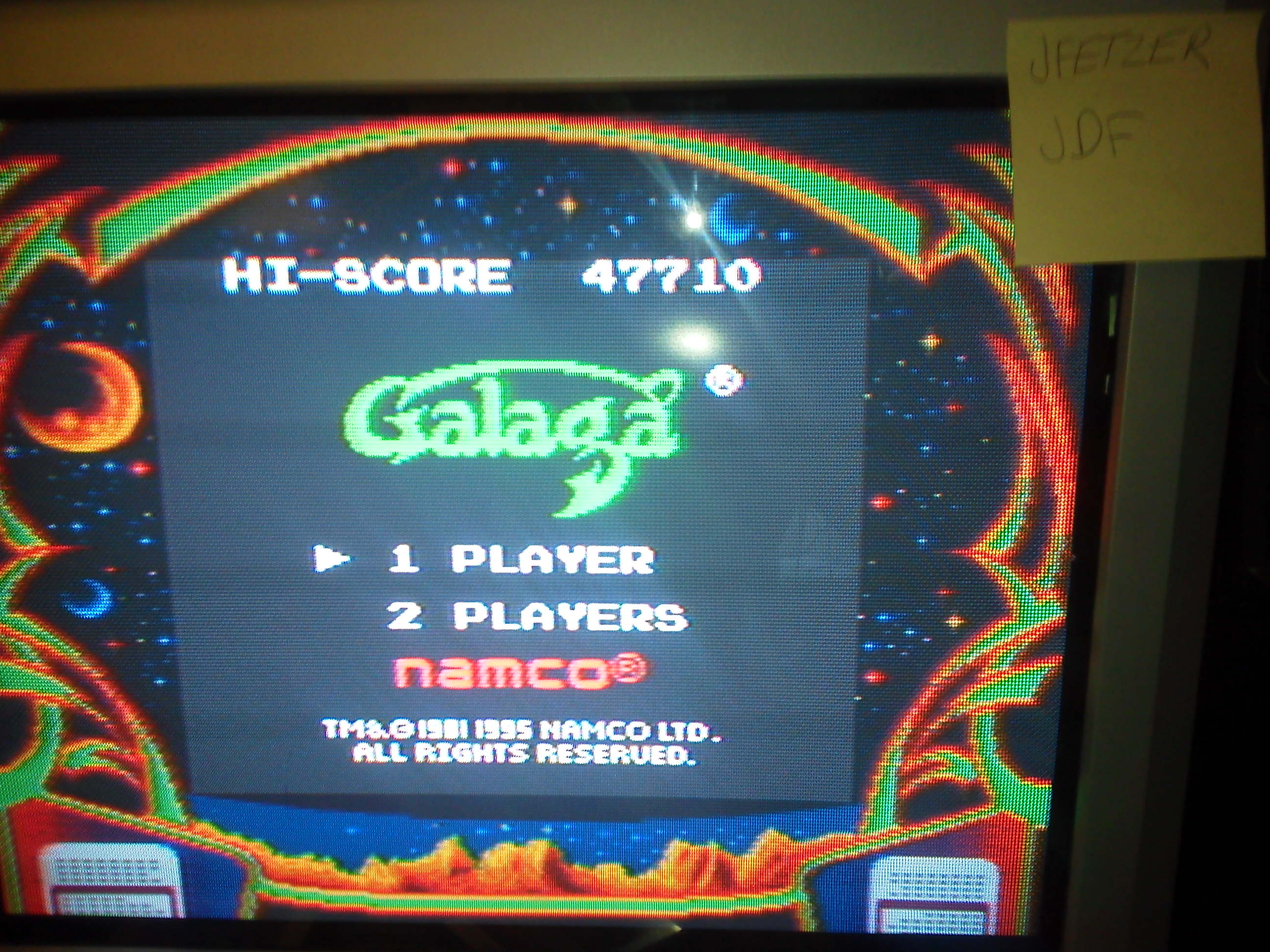 jfetzer: Galaga (Game Boy) 47,710 points on 2014-06-07 18:04:15