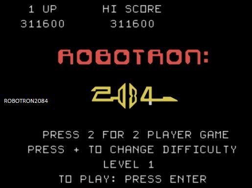 Robotron2084: Robotron 2084 [2 Joysticks] (TI 99/4A Emulated) 311,600 points on 2014-06-08 03:17:25