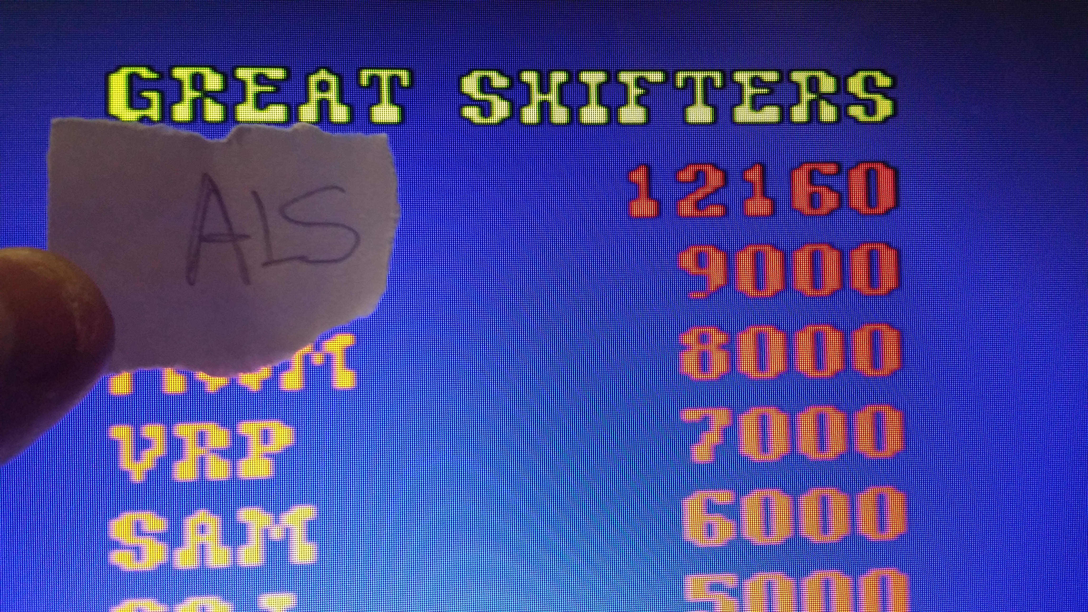 muscleandfitness: Chicken Shift [cshift] (Arcade Emulated / M.A.M.E.) 12,160 points on 2014-06-08 09:15:33