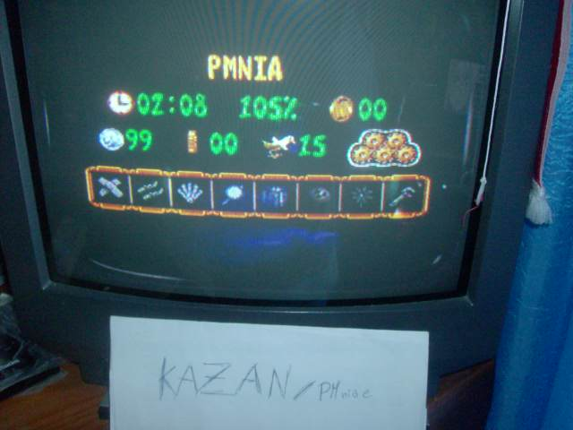 PMniac: Donkey Kong Country 3: Bear Coins (SNES/Super Famicom) 99 points on 2014-06-08 13:14:22