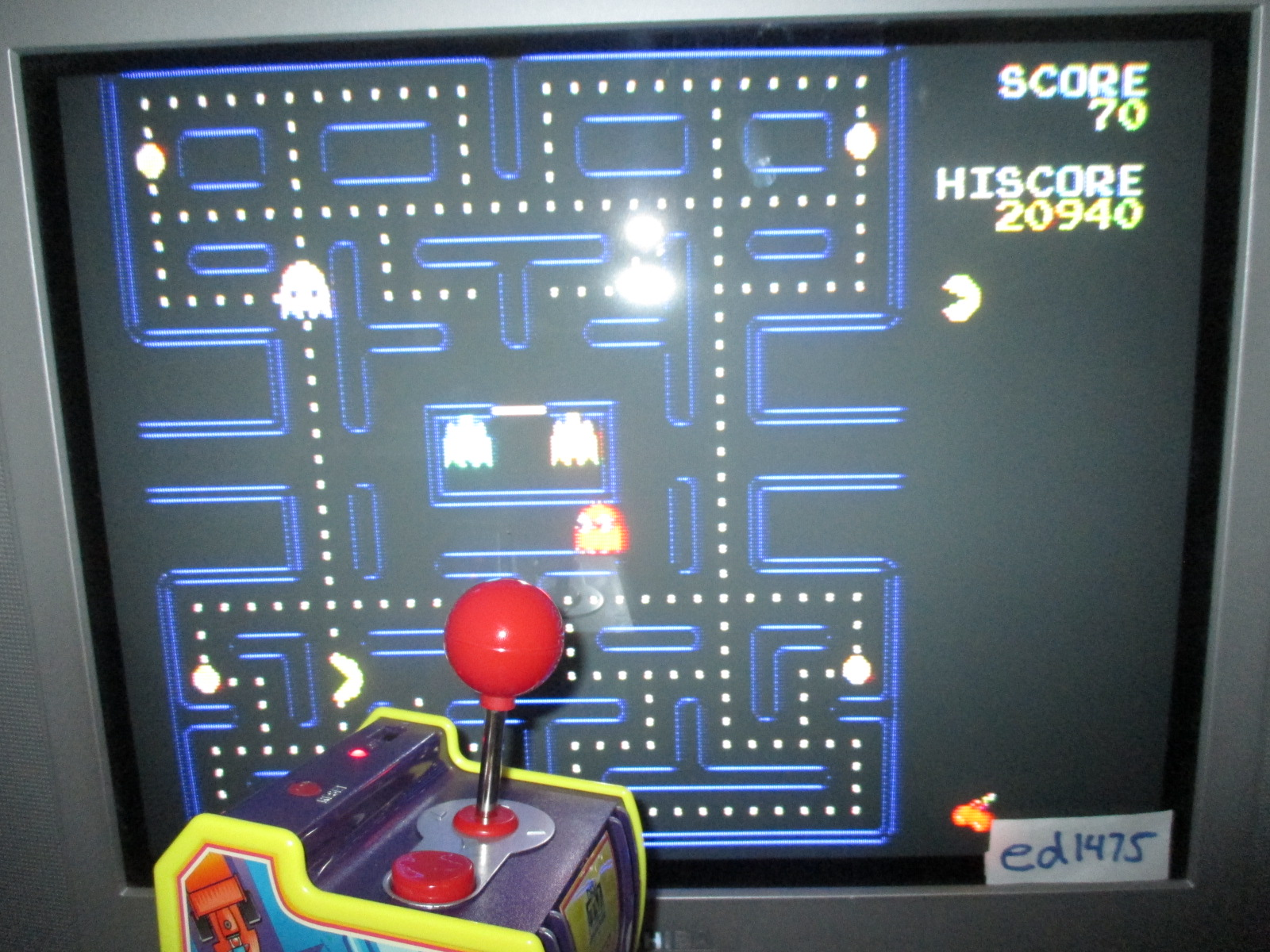 ed1475: Pac-Man (Jakks Pacific Pac-Man TV) 20,940 points on 2014-06-08 19:13:41