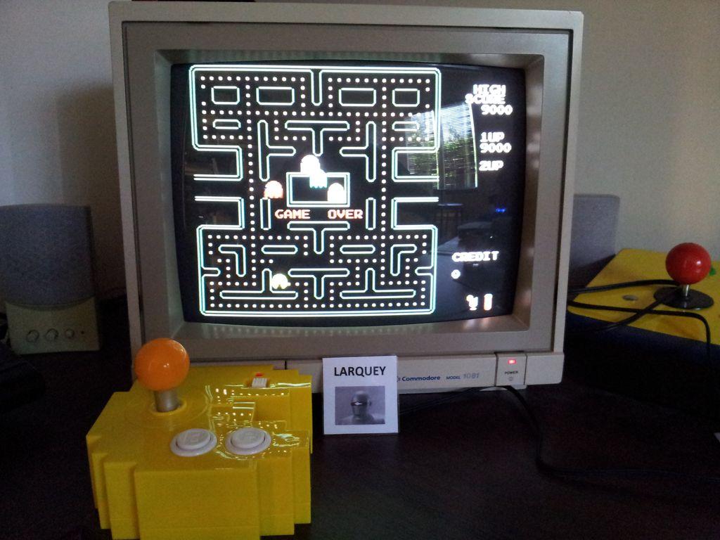 Pac-man Plus 9,000 points