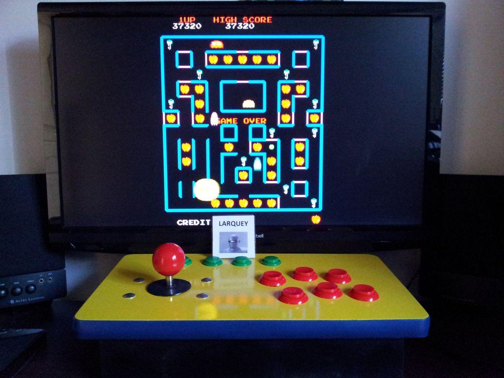 Super Pac-Man 37,320 points