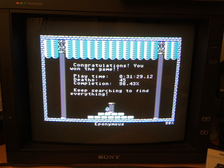SHiNjide: You Have to Win the Game (Commodore 64) 98 points on 2014-06-09 09:08:21