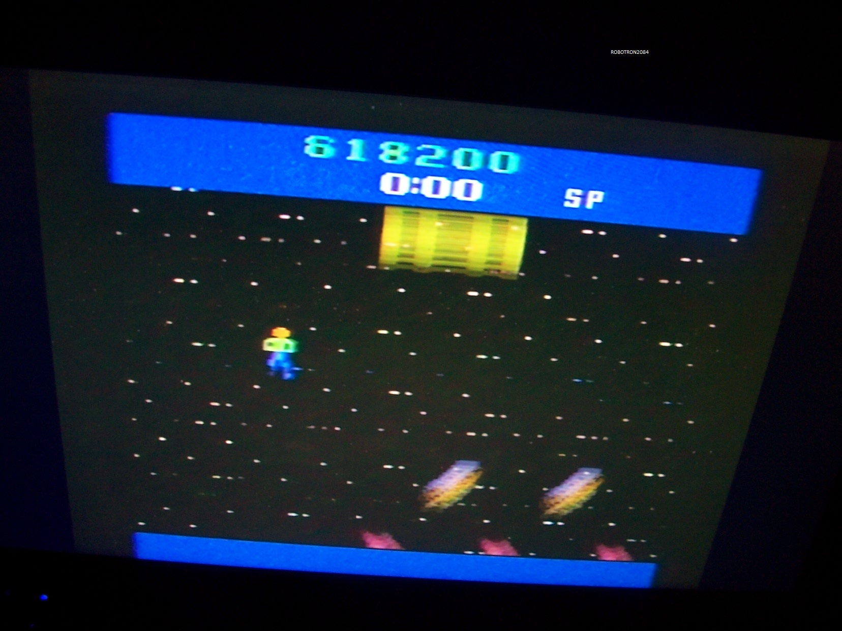 Robotron2084: Journey Escape (Atari 2600 Novice/B) 618,200 points on 2013-09-27 13:51:00