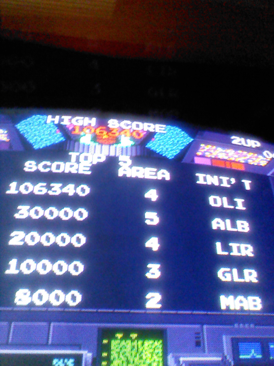 blagger: Rolling Thunder [rthunder] (Arcade Emulated / M.A.M.E.) 106,340 points on 2014-06-10 12:54:02